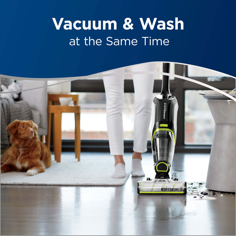 BISSELL CrossWave Cordless Max Floor and Carpet Cleaner with Wet Dry Vacuum 2590 Vac
