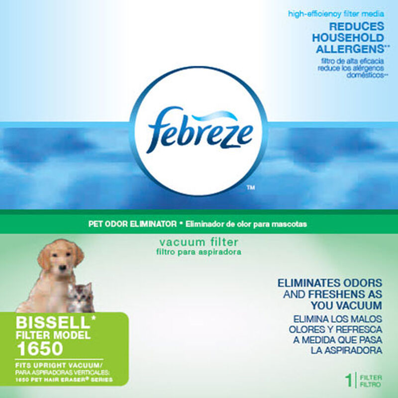 Post Motor Filter Febreze Pet Hair Eraser 1688 Packaging