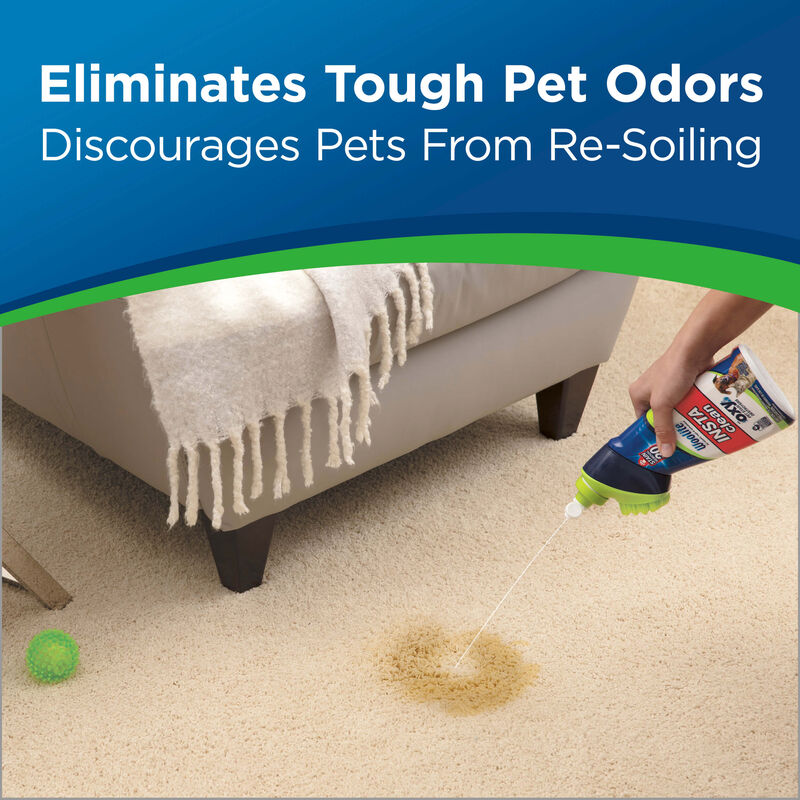Woolite Instaclean Pet Stain Remover Eliminates Tough Pet Odors