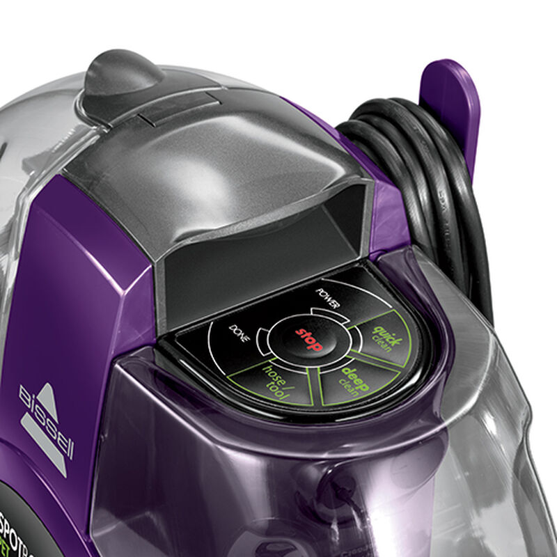 SpotBot Pet Robotic Carpet Cleaner Cleaning Modes