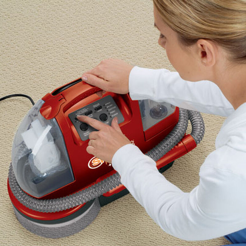 Spotbot Proheat Portable Carpet Cleaner 12U9 Cleaning Mode Selection