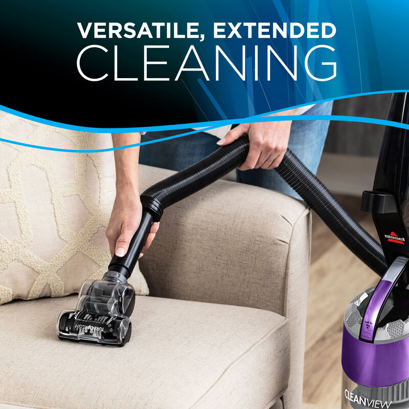 Cleanview Plus Extended Reach Upholstery Cleaning