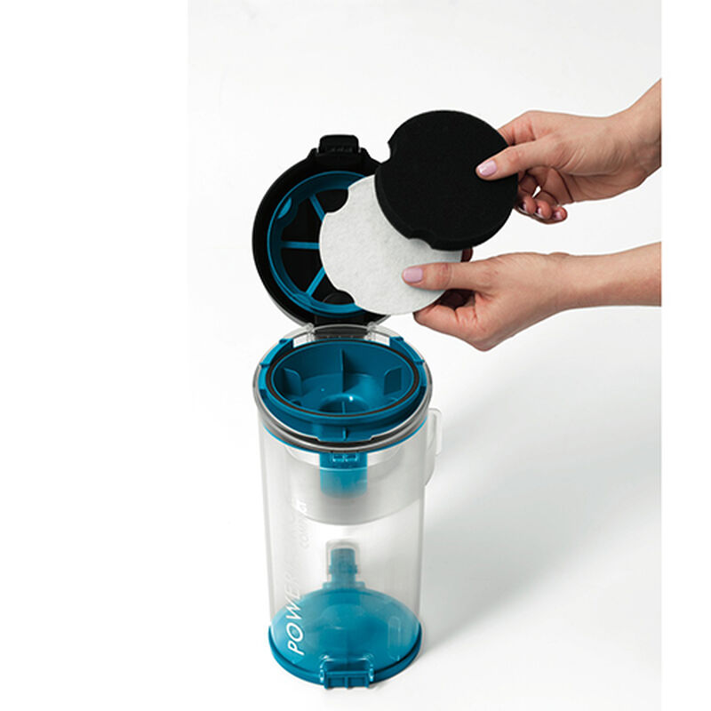 Powerforce Compact Vacuum 1520 Filter Cleaning