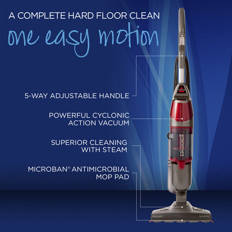 Symphony Steam Mop 1132 Product Features