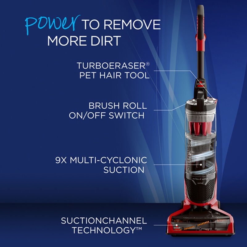 PowerGlide Pet Vacuum 1305 Product Features