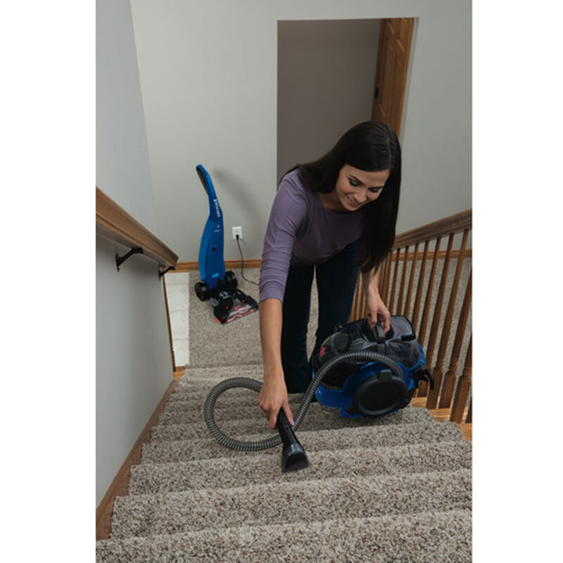 Refurbished BISSELL ProHeat LiftOff Carpet Cleaner Stair Cleaning