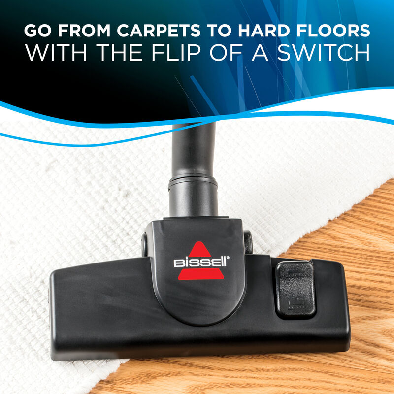 MultiClean Wet Dry Switch from carpet to hard floor