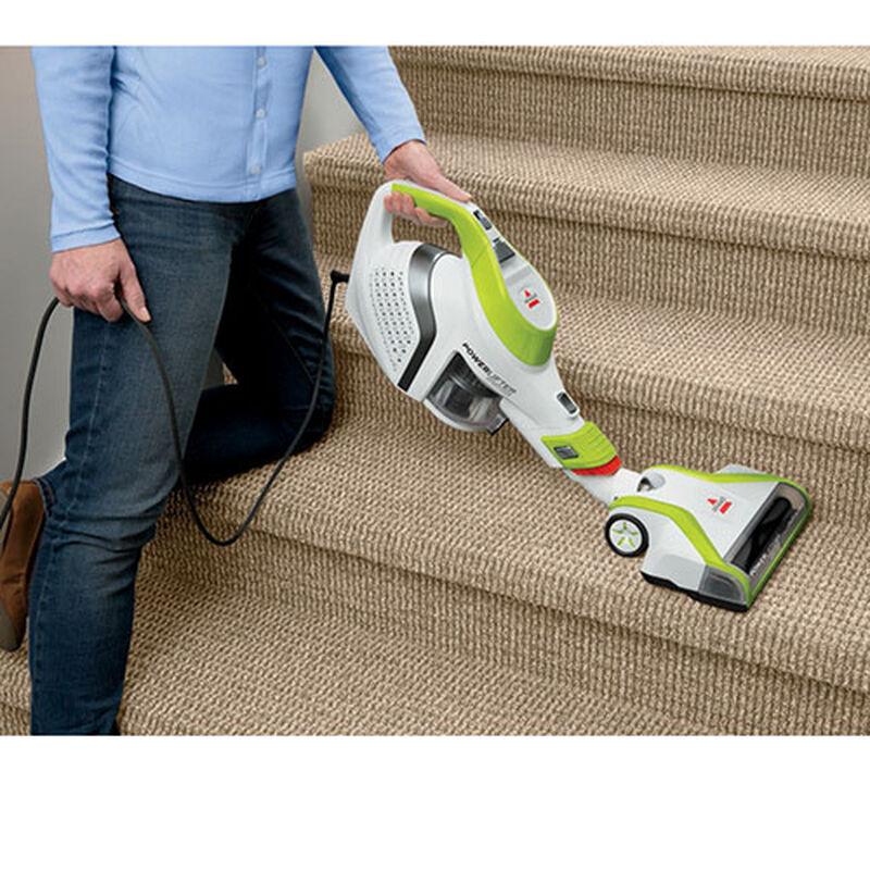 Powerlifter Super Light Stick Vacuum 1576W stairs