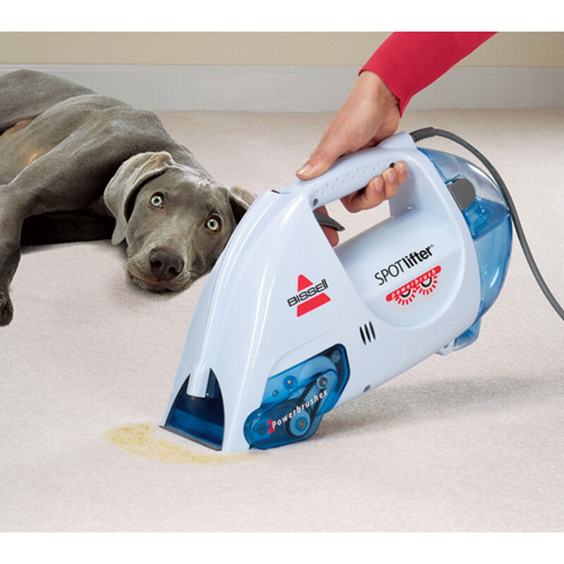 Spotlifter Powerbrush Portable Carpet Cleaner 1716 spot cleaning