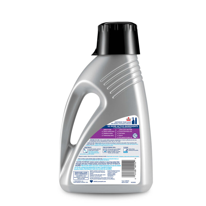 PRO MAX Clean + Refresh with Febreze Carpet Cleaning Formula 2515 Back