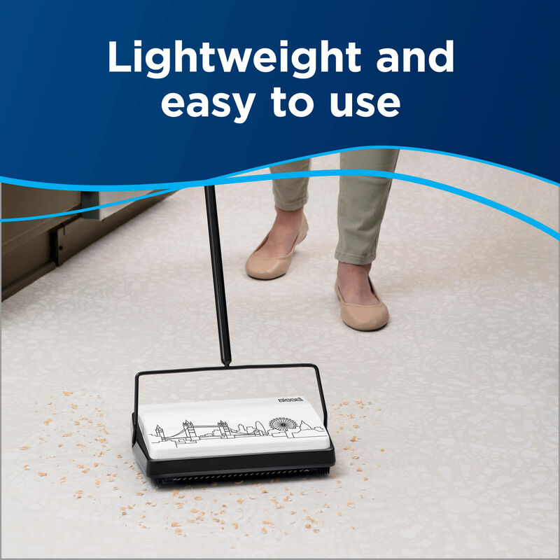 City Sweep Manual Carpet Sweeper Light Weight
