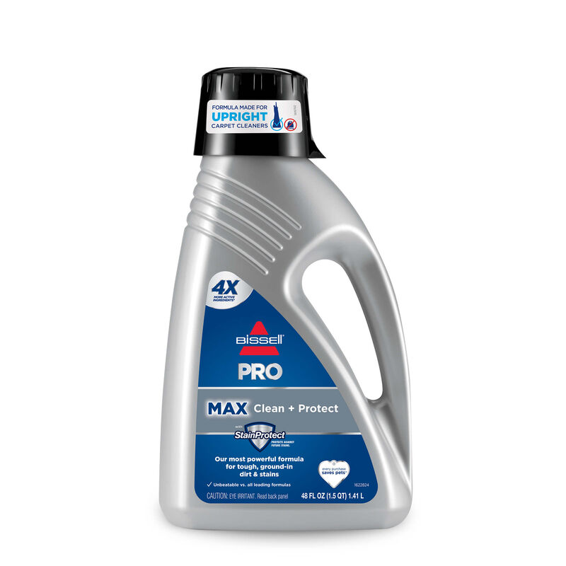 PRO MAX Clean + Protect Formula BISSELL Carpet Cleaning Formulas Front