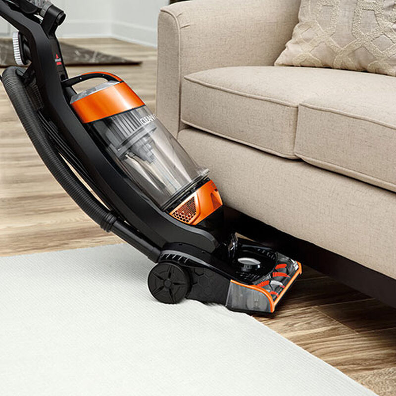 CleanView Bagless Vacuum Cleaner Cleaning Under couch