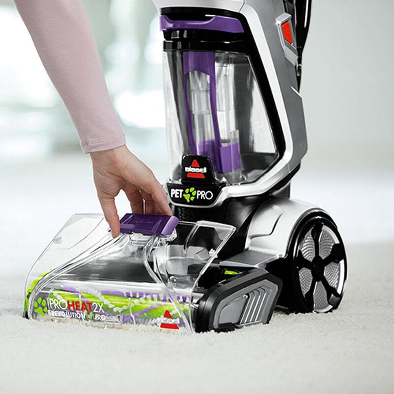 ProHeat_2X_Revolution_Pet_Pro_2383_BISSELL_Carpet_Cleaner_Remove_Front_Nozzle