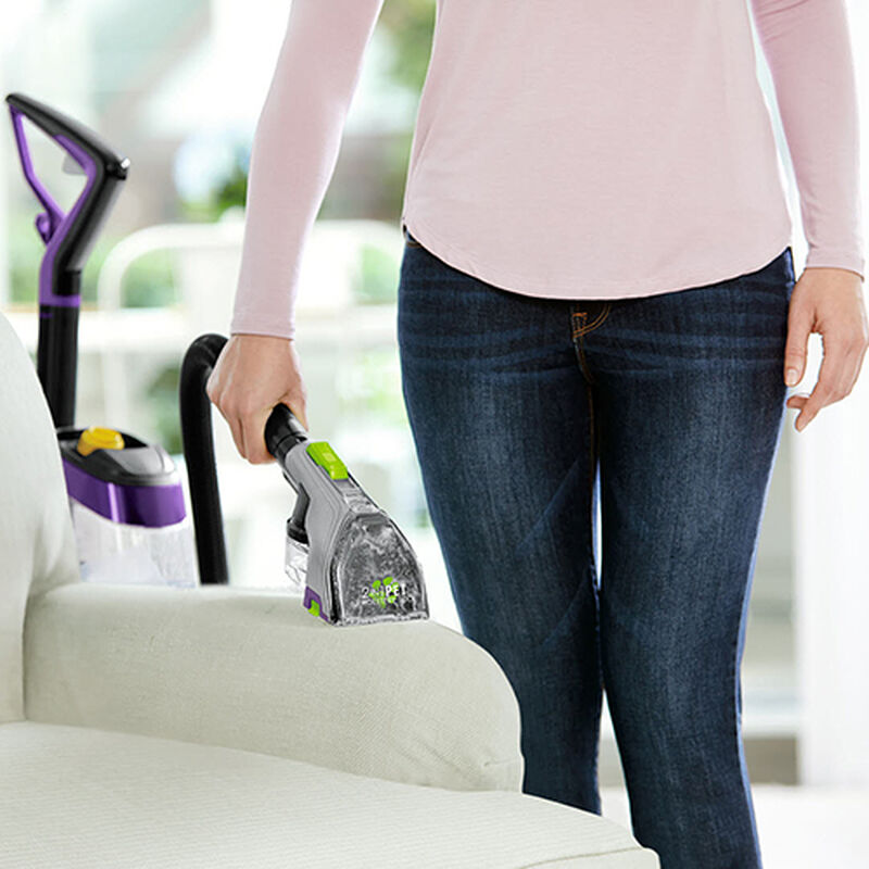 ProHeat_2X_Revolution_Pet_Pro_2383_BISSELL_Carpet_Cleaner_2_in_1_Pet_Upholstery_Action