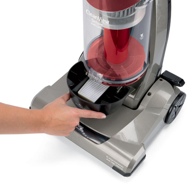 CleanView Deluxe Vacuum 24101 PreMotor Filter Location