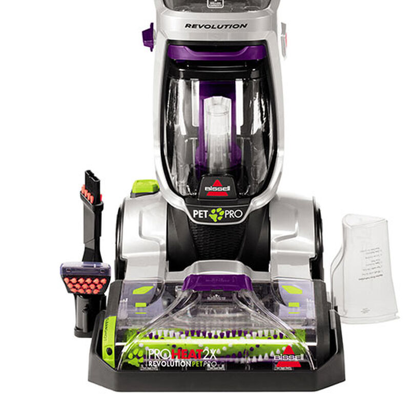 ProHeat_2X_Revolution_Pet_Pro_2383_BISSELL_Carpet_Cleaner_Machine_Tools_Tray