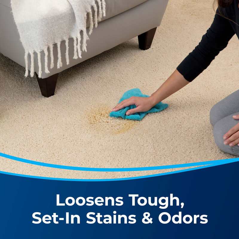 BISSELL Tough Stain Pretreat for Carpet & Upholstery 4001 loosens Tough Stains
