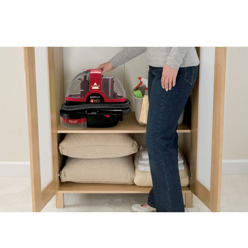 Spotbot Pet Portable Carpet Cleaner 33N8T Storage