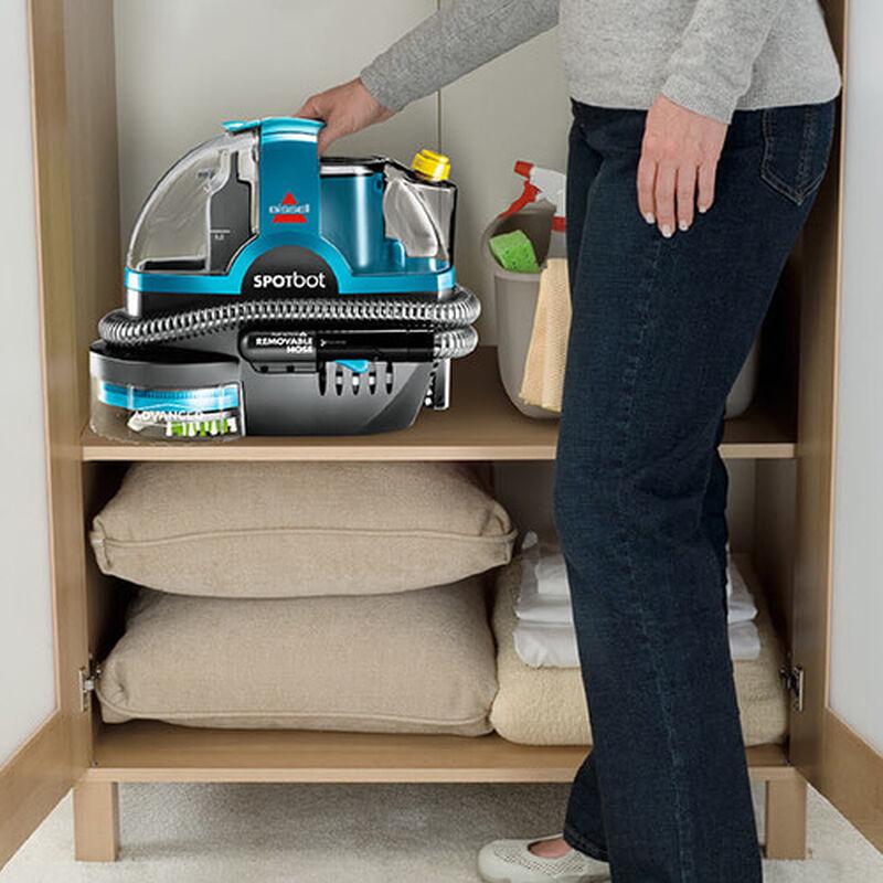 SpotBot_2117_BISSELL_Portable_Carpet_Cleaner_Storage
