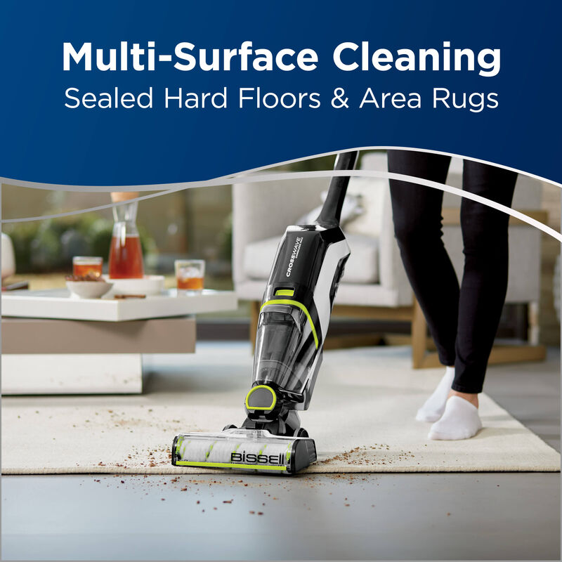BISSELL CrossWave Cordless Max Floor and Carpet Cleaner with Wet Dry Vacuum 2590 Multi Surface