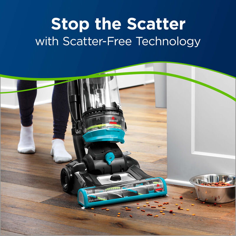 BISSELL CleanView® Swivel Rewind Pet Scatter-Free Technology Vacuums