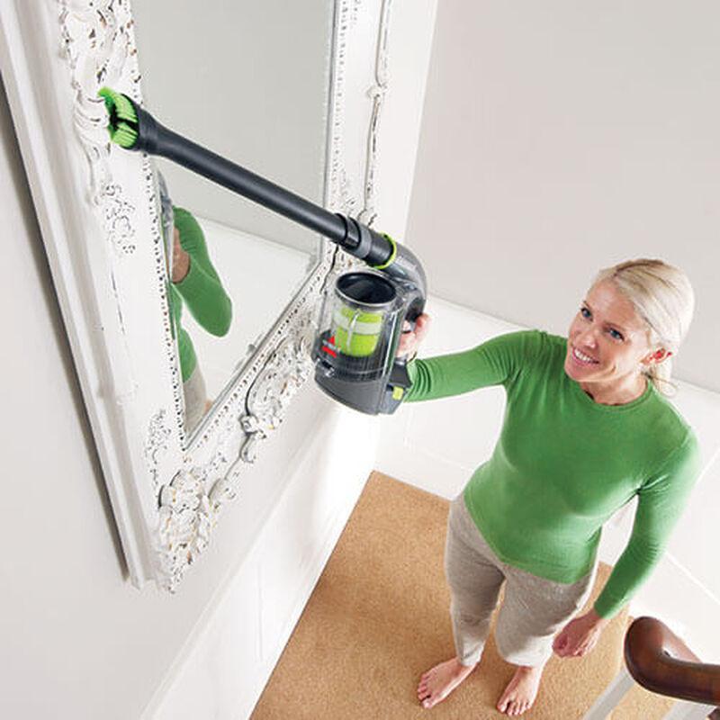 Multi Hand Vacuum Above Floor Cleaning