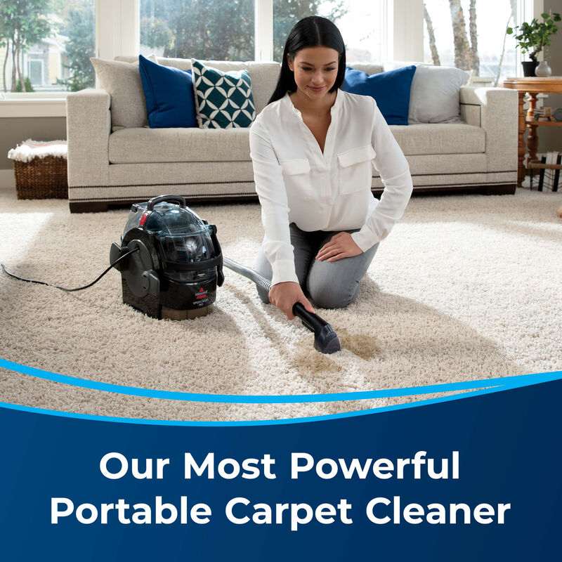 BISSELL SpotClean Pro Portable Carpet Cleaner 3624 Powerful