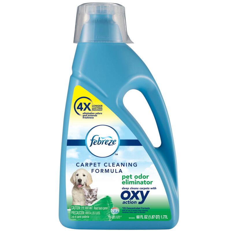 BISSELL Febreze Pet Odor Eliminator Oxy Carpet Formula Hero