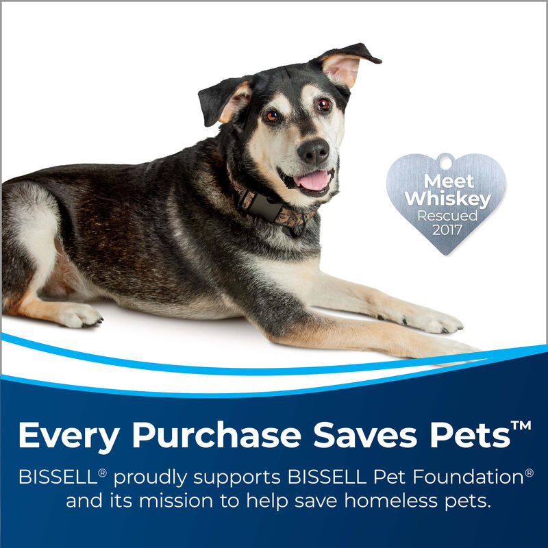 BISSELL PowerForce™ PowerBrush Pet Advanced Carpet Cleaner 2910 Save Pets