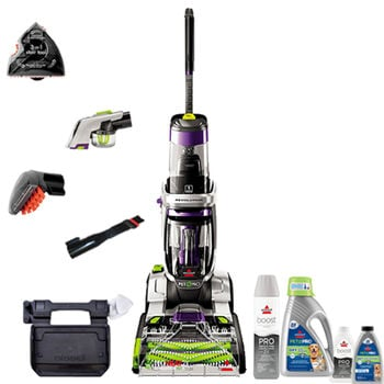 Bissell ProHeat 2x Revolution Max Clean Pet Pro Full-Size Deluxe Carpet Cleaner + Extras