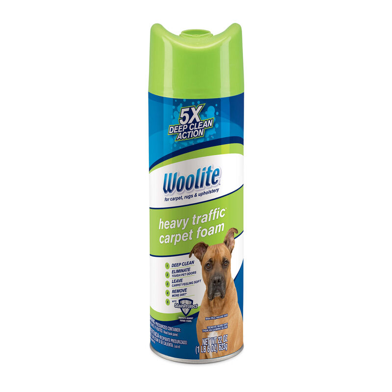 Woolite Heavy Traffic Foam Carpet Cleaner 0820 Hero