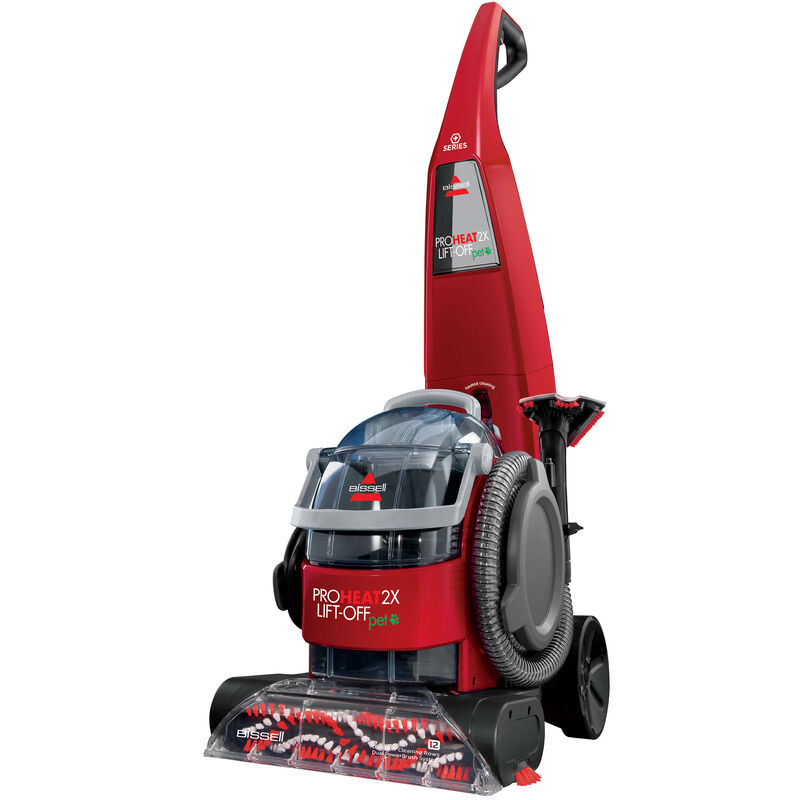 BISSELL ProHeat 2X® Lift-Off® Pet Upright Carpet Cleaner 1565T Side