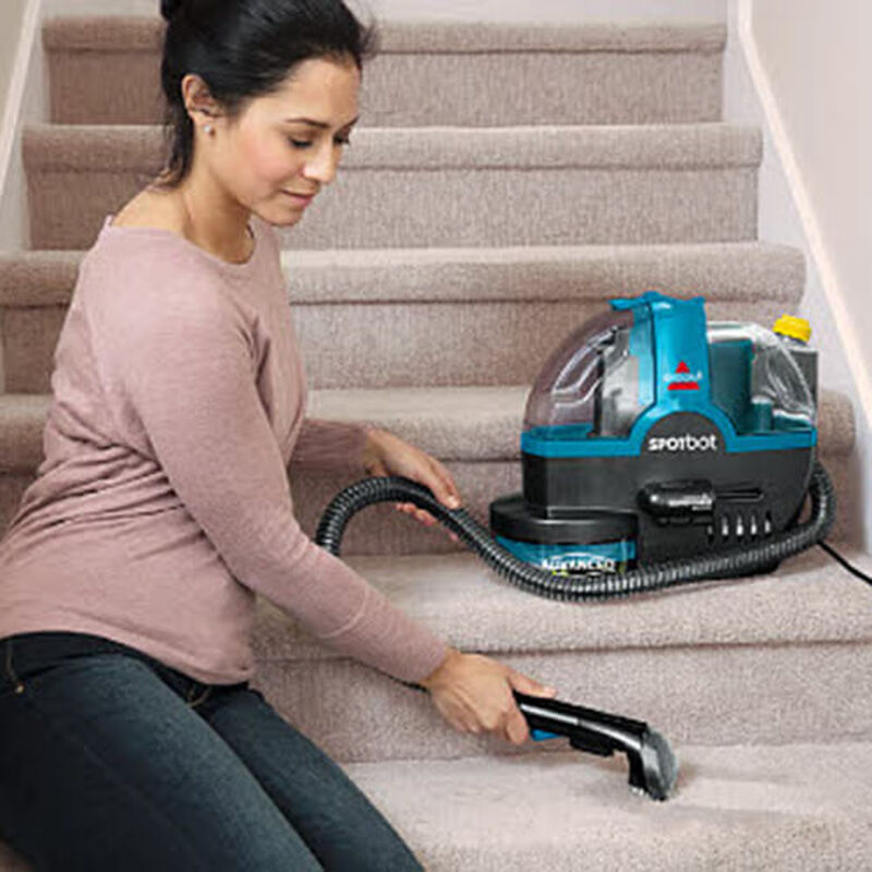 SpotBot_2117_BISSELL_Portable_Carpet_Cleaner_Stairs