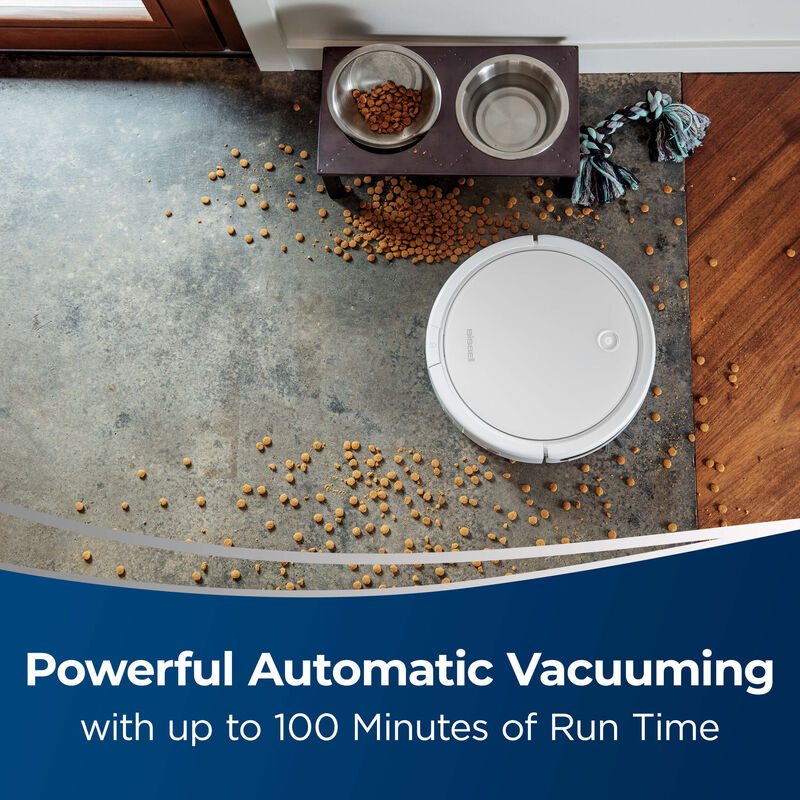 BISSELL Spinwave Wet And Dry Robotic Vacuum 28599 Automatic Vacuuming