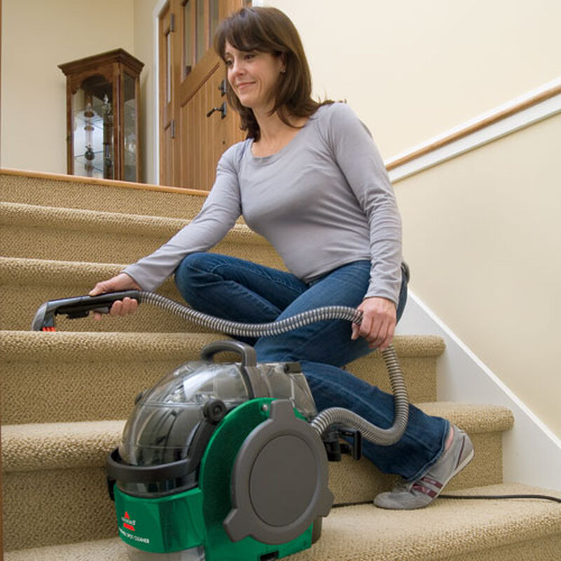 LiftOff Carpet Cleaner 94Y2 Stair Cleaning With Portable Spot Cleaner