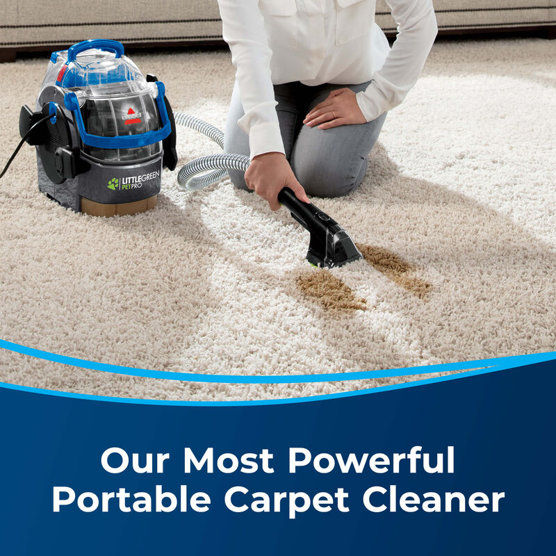 BISSELL Little Green® Pet Pro Portable Carpet Cleaner 2891 Our Most Powerful Carpet Cleaner