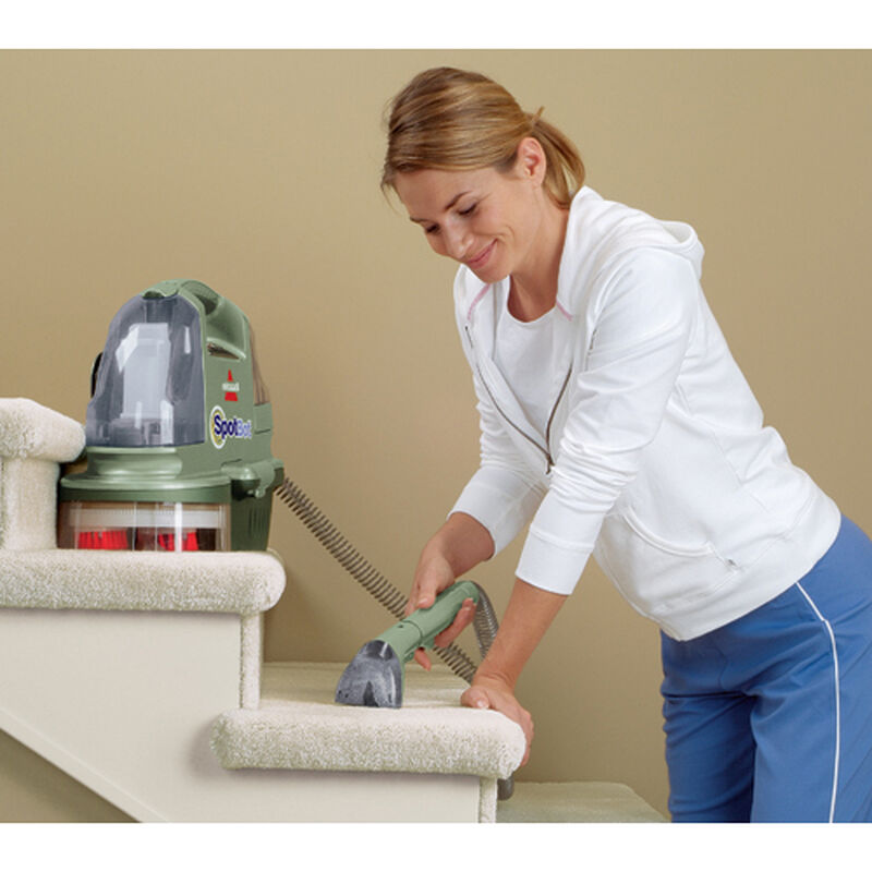 Spotbot Portable Carpet Cleaner 12005 Manual Stair Cleaning