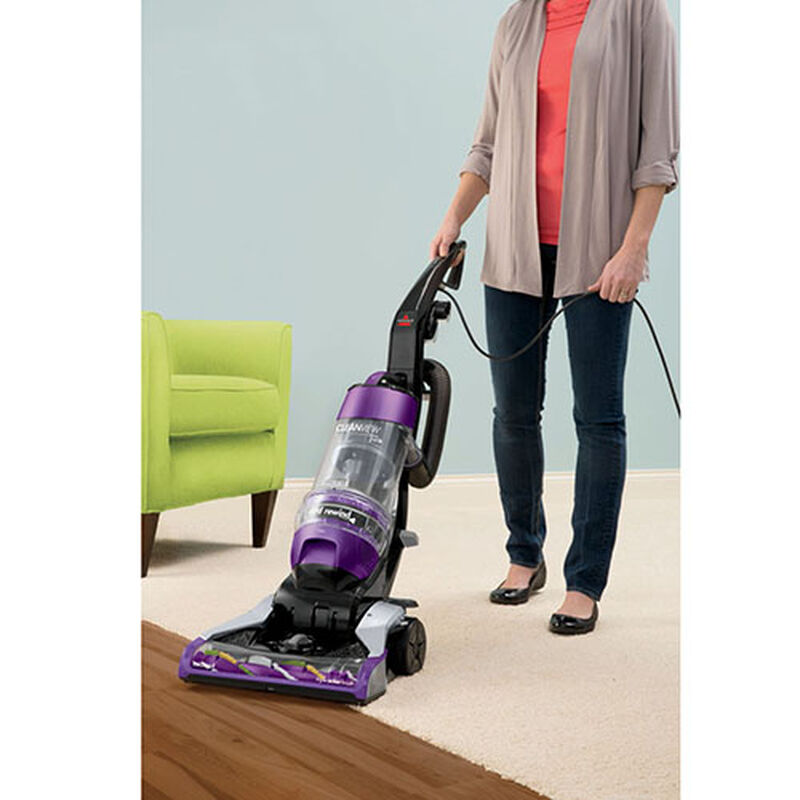 CleanView Rewind Deluxe Pet Vacuum 14522 Bare Floor Cleaning
