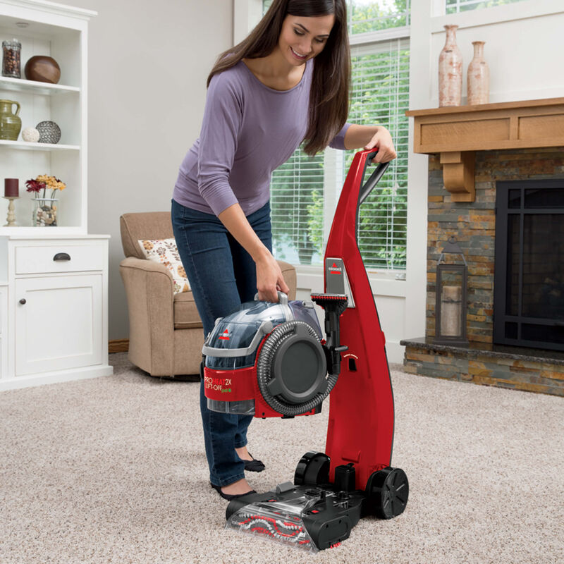 BISSELL ProHeat 2X® Lift-Off® Pet Upright Carpet Cleaner 1565T Lift-Off