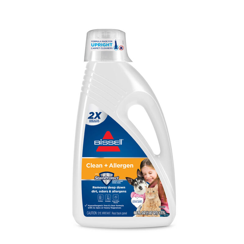 BISSELL Clean plus Allergen Carpet Cleaning Formula 89Q52 Hero