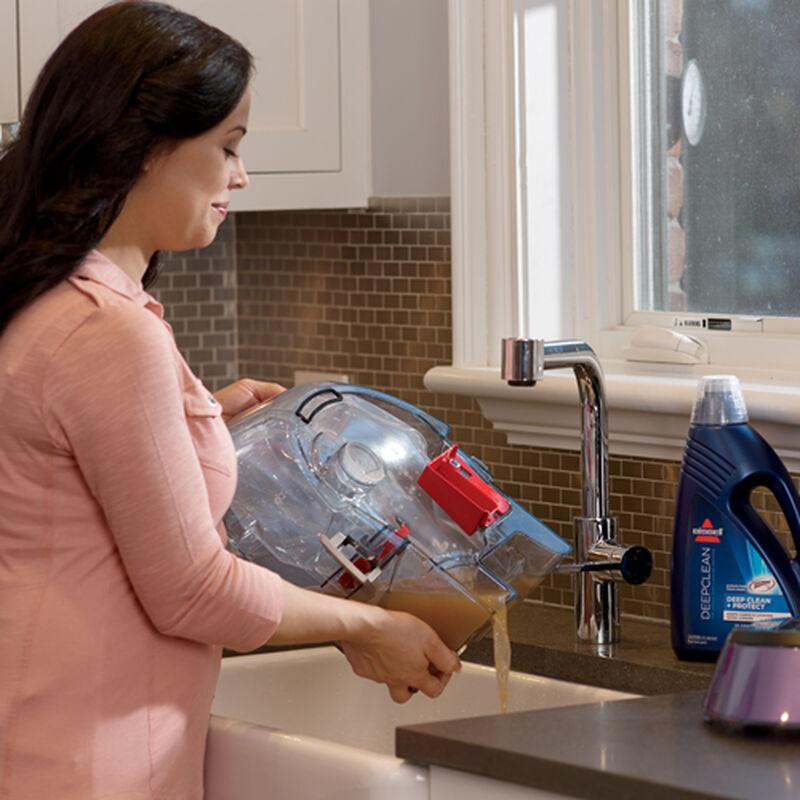 DeepClean Premier Carpet Cleaner 47A2 Emptying Dirty Water Tank