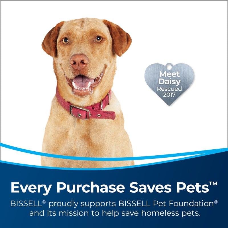 BISSELL MultiClean™ Allergen Pet Vacuum Cleaner 2849 Saves Pets