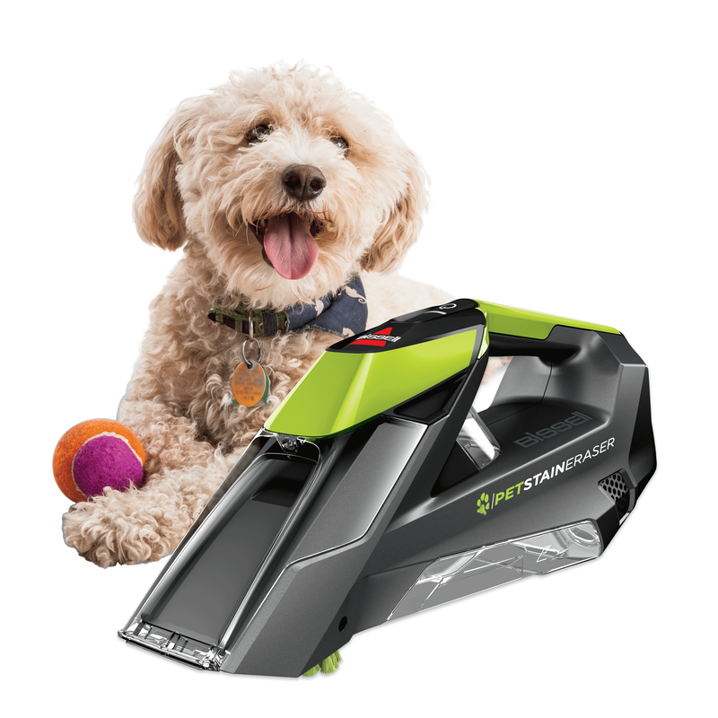 Pet Stain Eraser™ Cordless Portable Carpet Cleaner