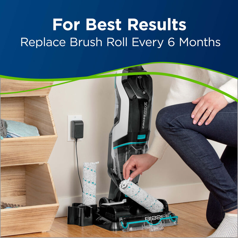 BISSELL CrossWave Cordless Max Multi Surface Wet Dry Vac Pet Multi-Surface Brush Roll 1618641 results