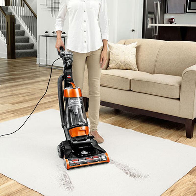 CleanView Bagless Vacuum Cleaner Carpet Dirt