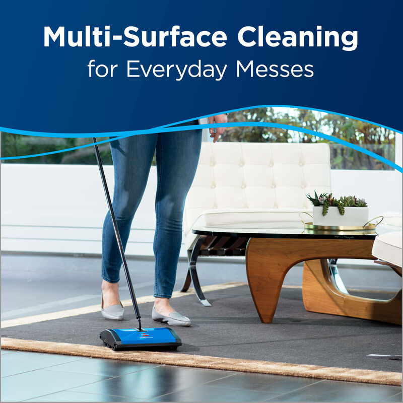 Sturdy Sweep™ Carpet & Floor Manual Sweeper 5232V BISSELL Sweepers MultiSurface
