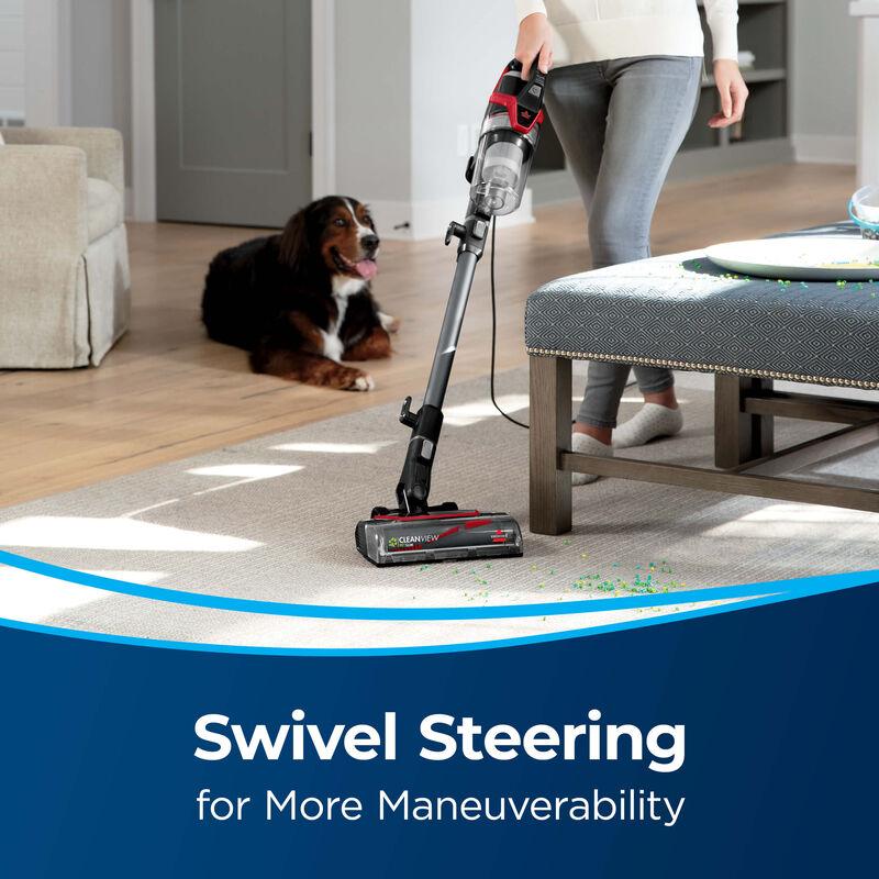 BISSELL CleanView® Pet Slim Corded Vacuum 28311 Swivel Steering
