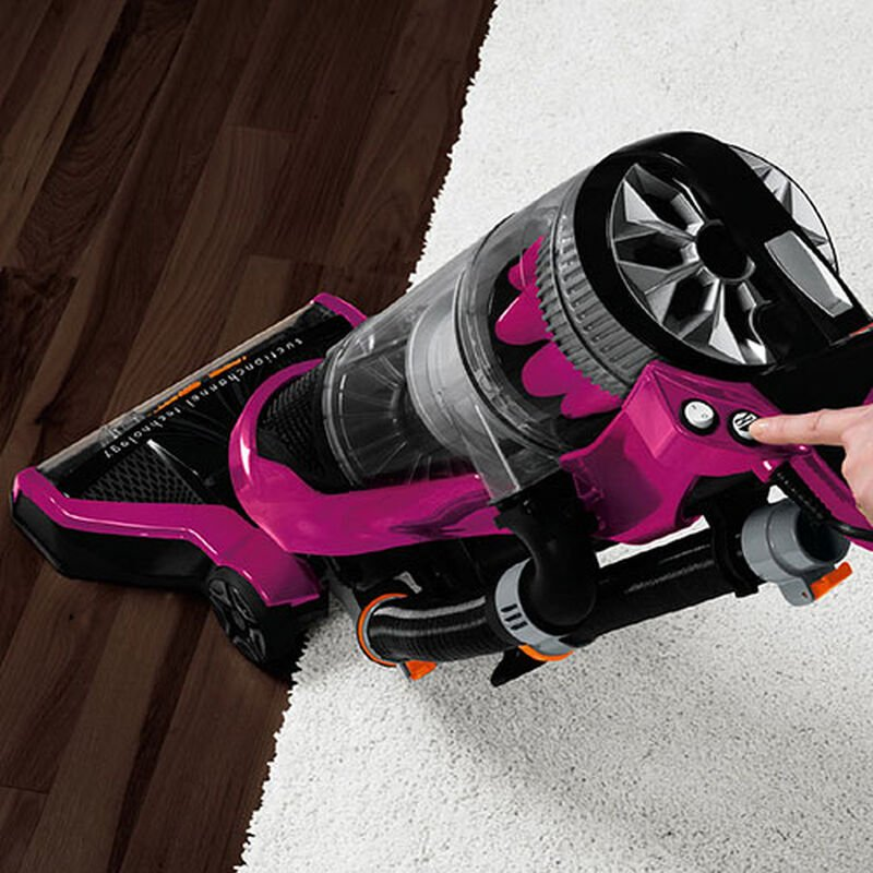 PowerGlidePet 1645 BISSELL Vacuum Cleaners Brush ON OFF