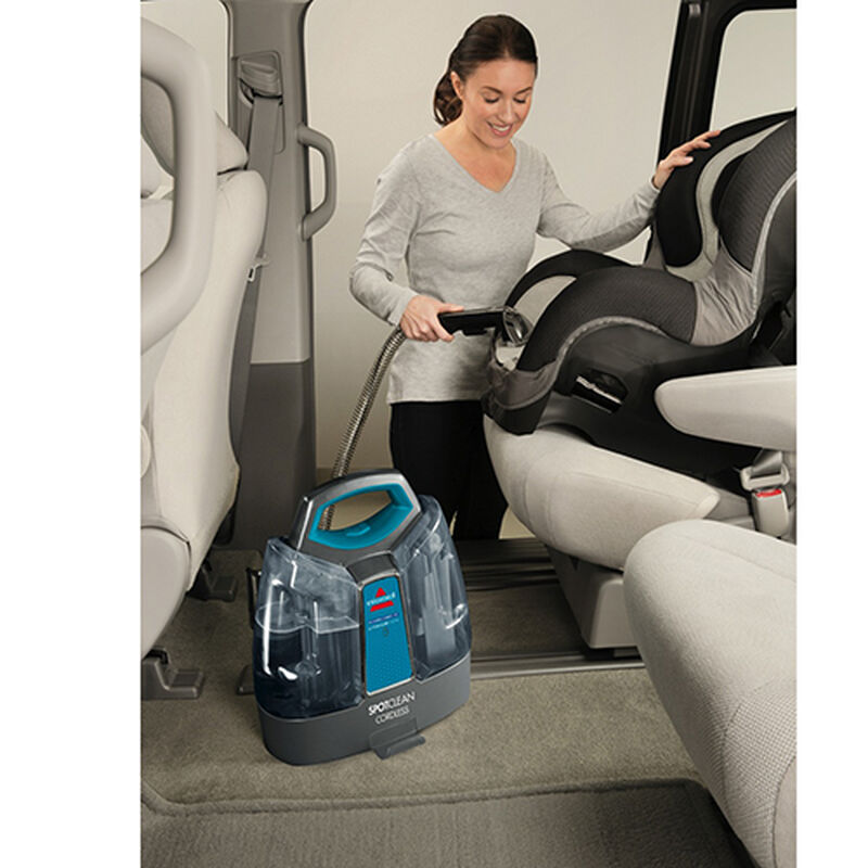 Spotclean Cordless Carpet Cleaner Car Seat Cleaning